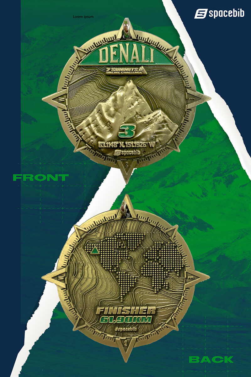 Finisher Medal - Denali#vertical_image
