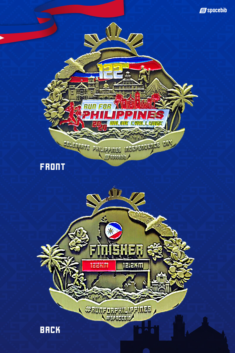 Finisher Medal - 122km#vertical_image