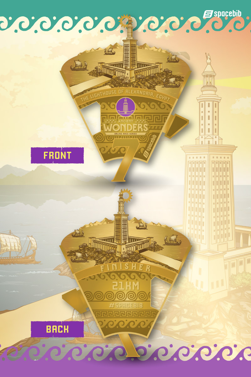 Finisher Medal - Lighthouse of Alexandria#vertical_image