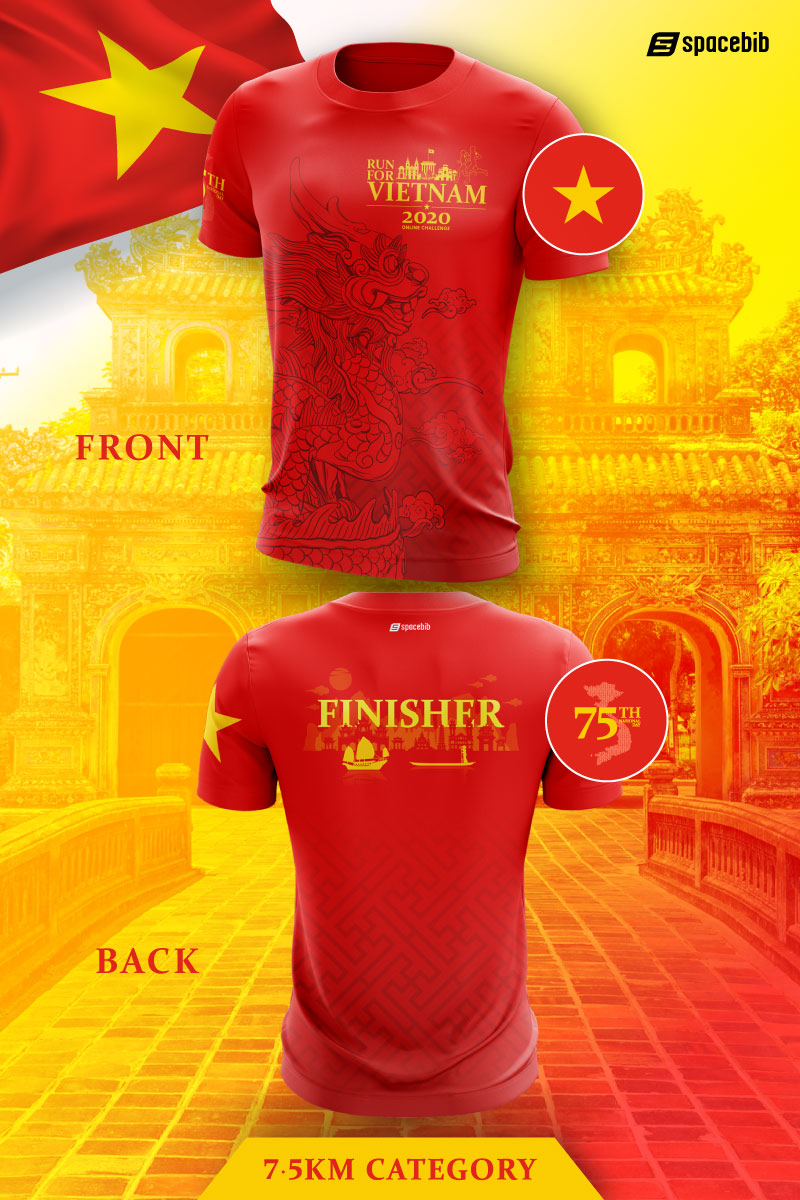 Finisher T-Shirt - 7.5km#vertical_image