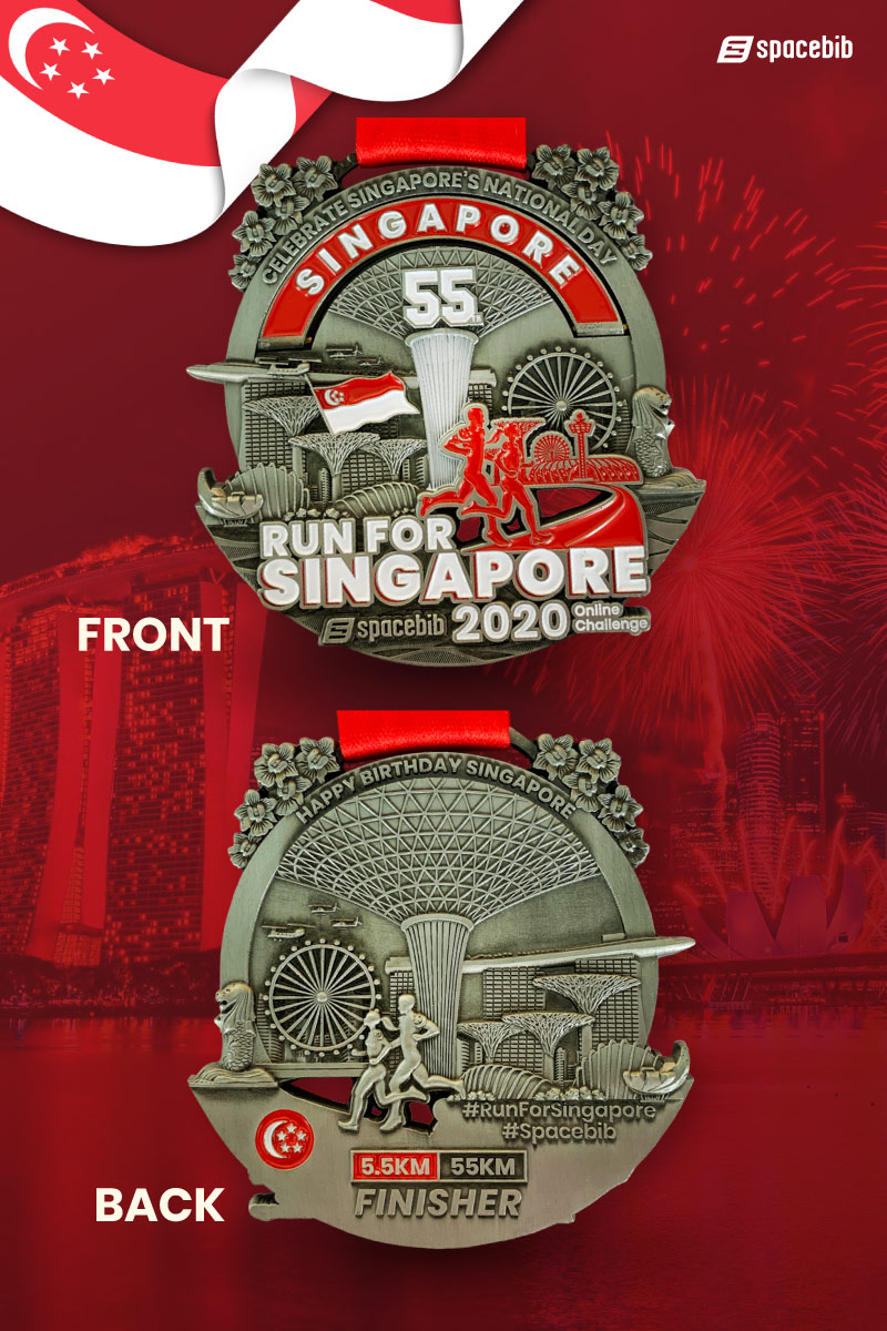 Finisher Medal - 5.5km#vertical_image
