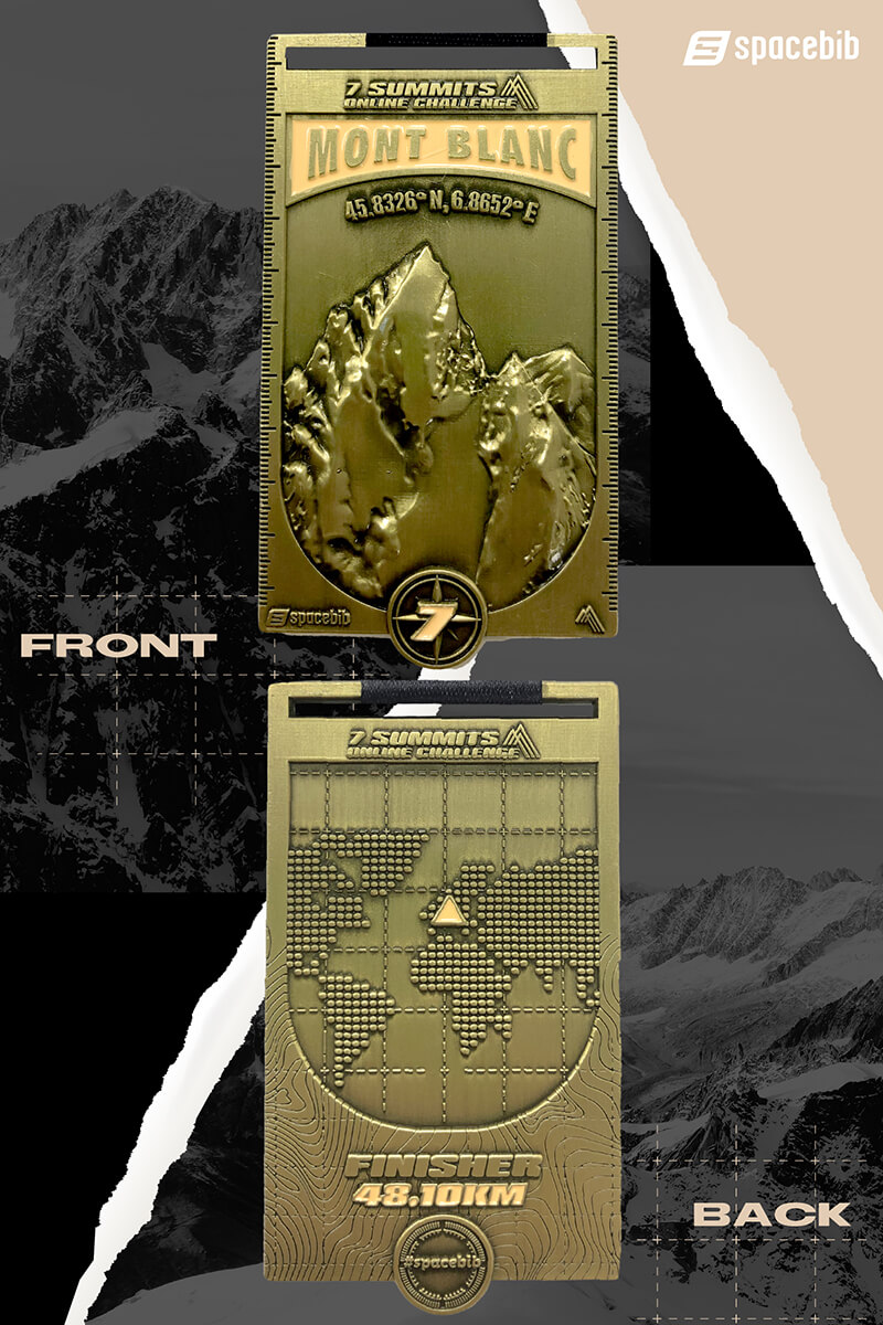 Finisher Medal - Mont Blanc#vertical_image