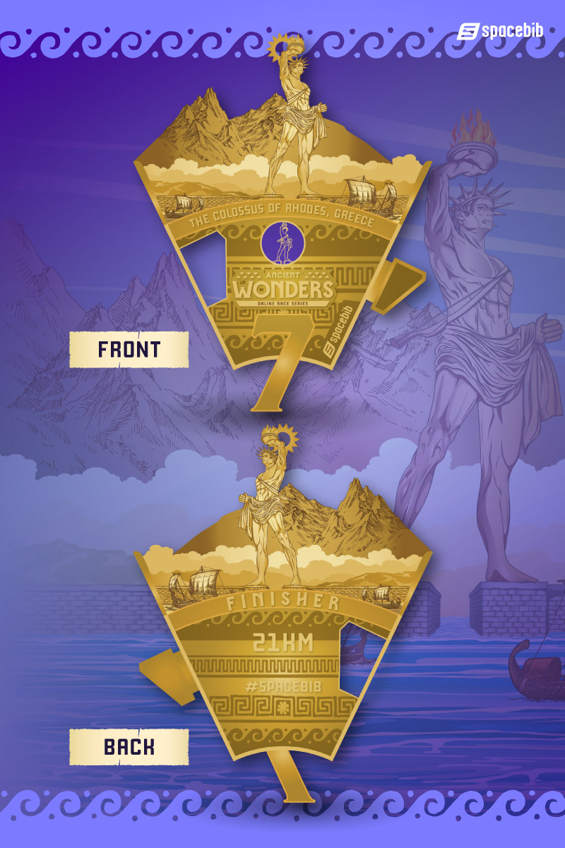 Finisher Medal - Colossus of Rhodes#vertical_image