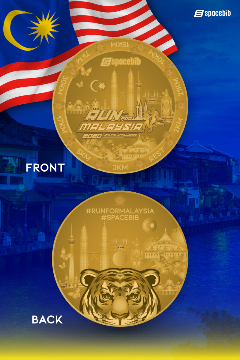 Distance Running Coin#vertical_image