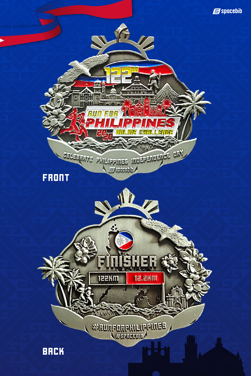 Finisher Medal - 12.2km#vertical_image