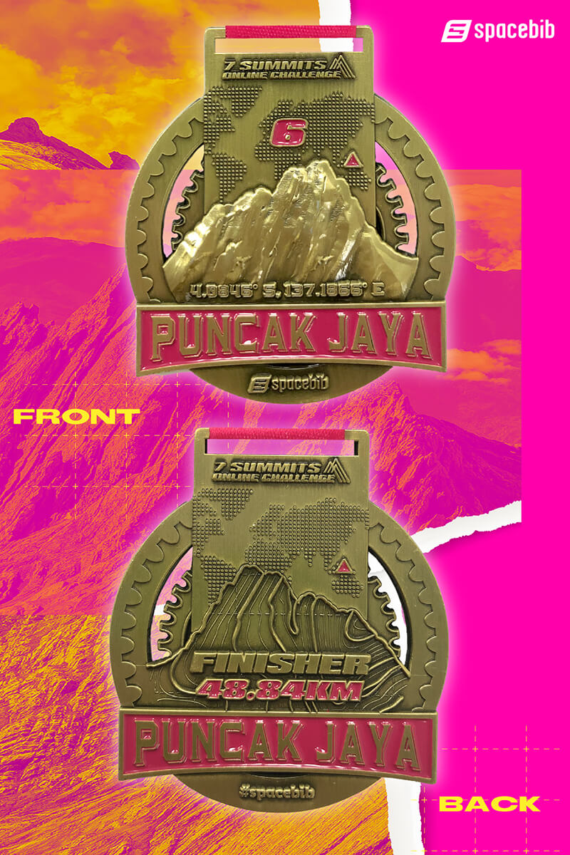 Finisher Medal - Puncak Jaya#vertical_image