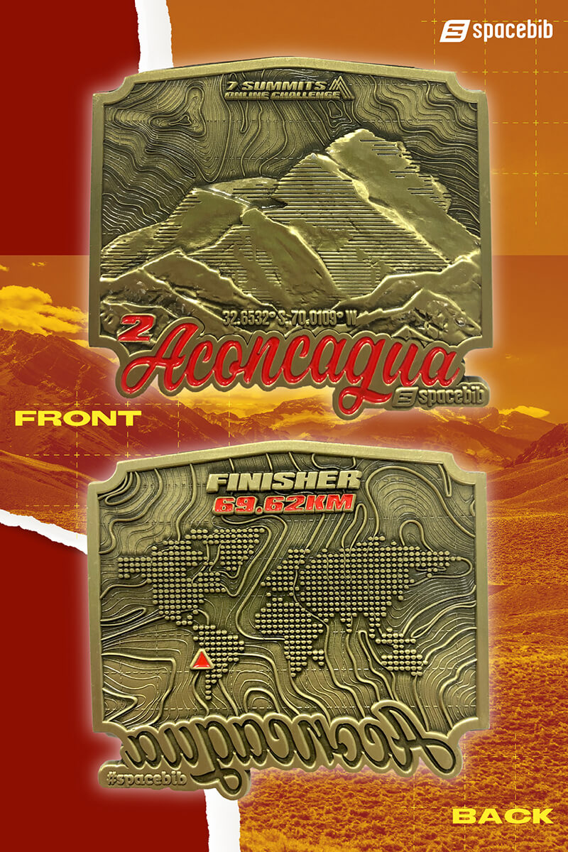 Finisher Medal - Aconcagua#vertical_image