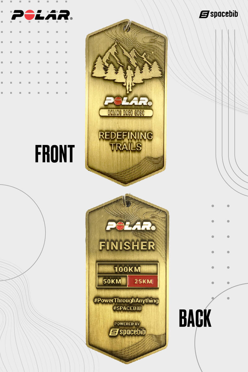 Finisher Medal - 25km#vertical_image