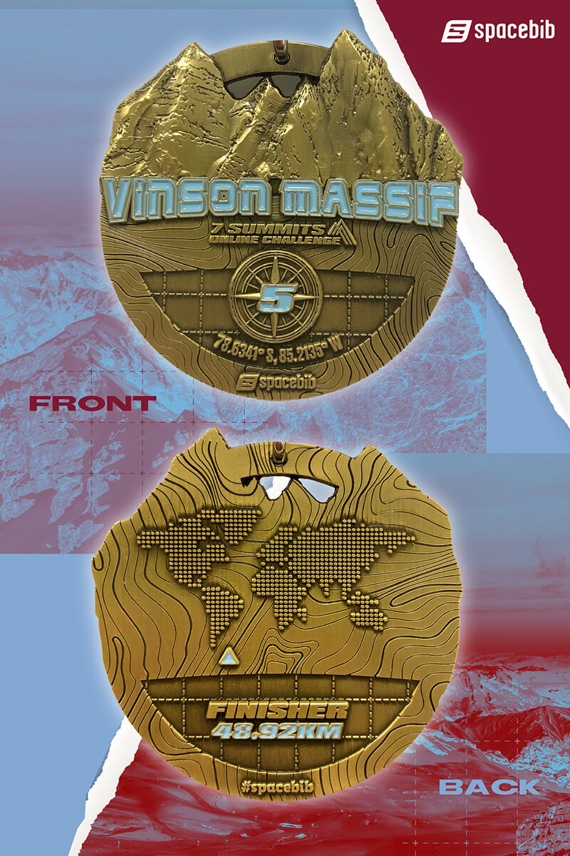 Finisher Medal - Vinson Massif#vertical_image