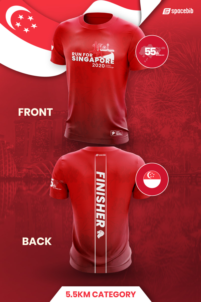 Finisher T-Shirt - 5.5km#vertical_image